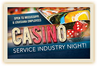 Service Industry Night At Casino For LA And MS Employees - Silver Slipper Casino